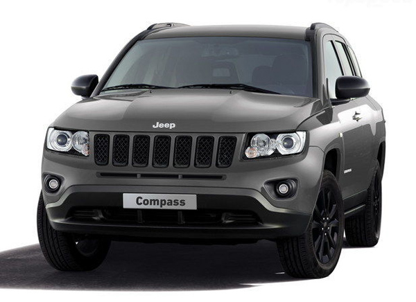 Jeep покажет Compass Black Look Concept